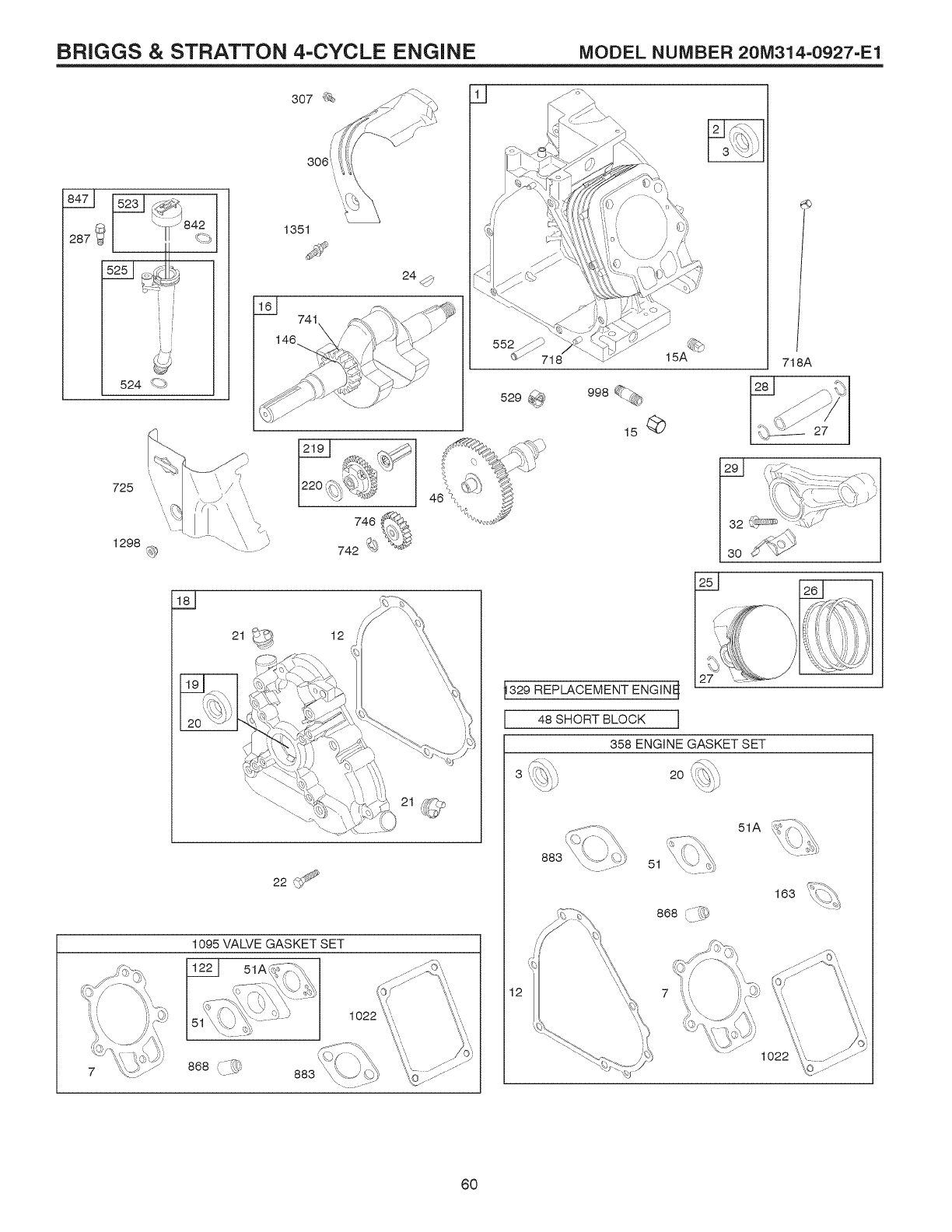 Page 60 of Craftsman Snow Blower 917.881064 User Guide