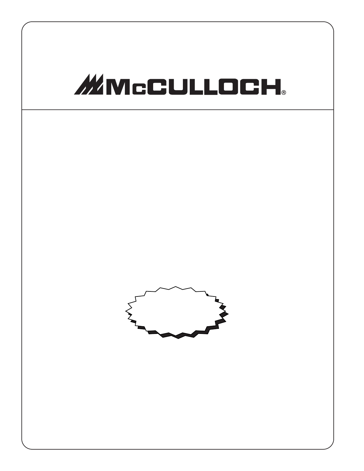 Page 8 of McCulloch Chainsaw MS1635AV User Guide
