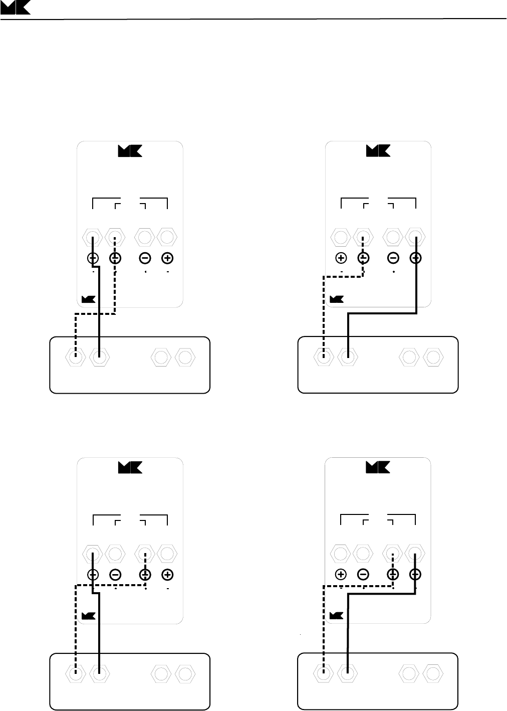 Page 5 of MK Sound Speaker System S-125 User Guide