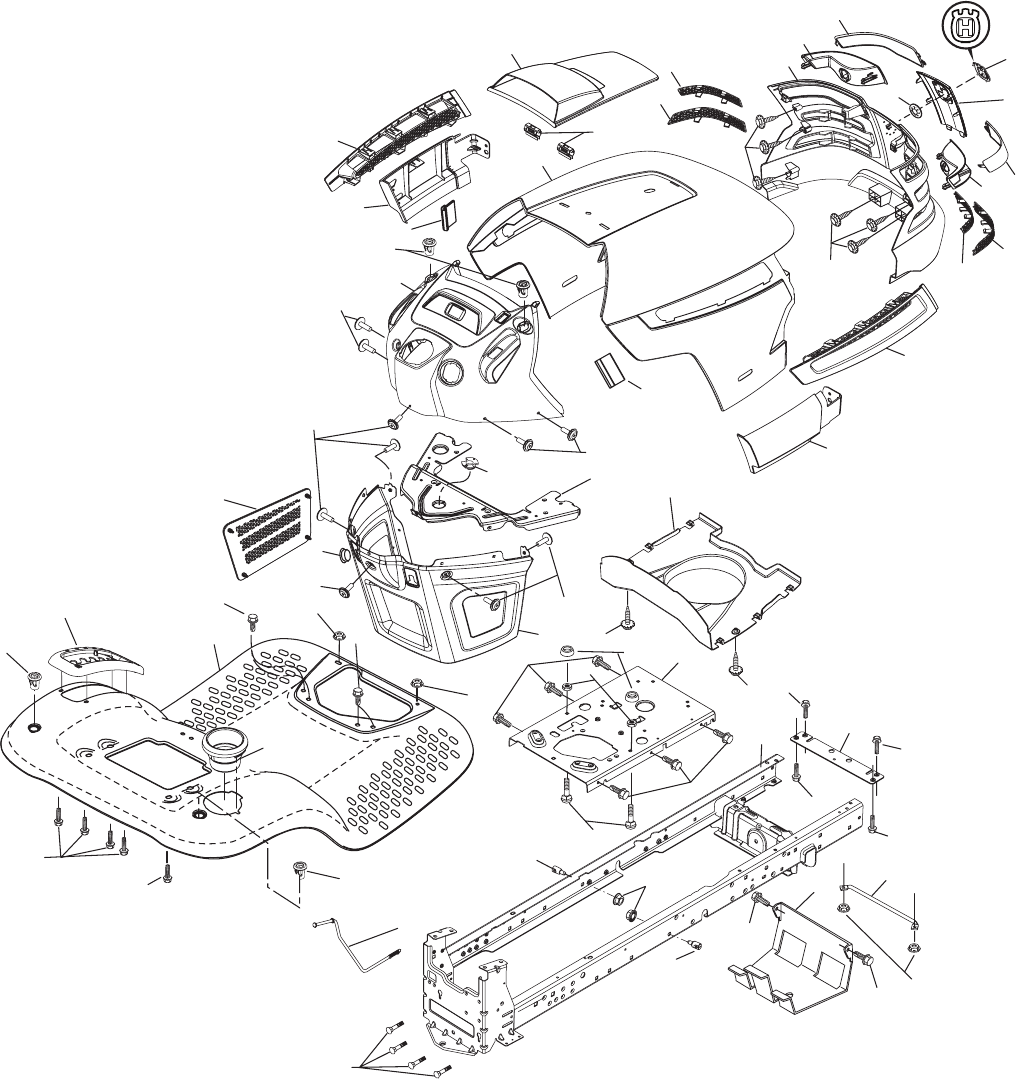 Page 32 of Husqvarna Lawn Mower YTH2042 User Guide