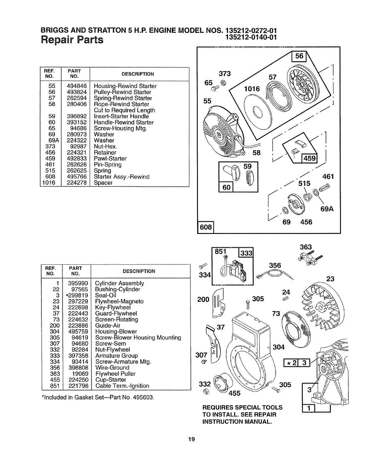 Page 19 of Craftsman Chipper 79785 User Guide