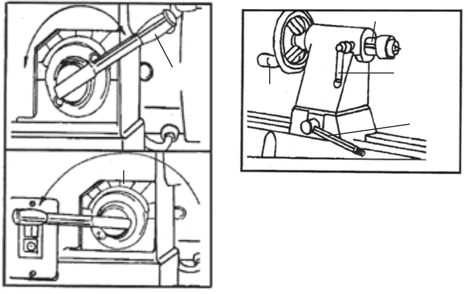 Page 14 of Harbor Freight Tools Lathe 98676 User Guide
