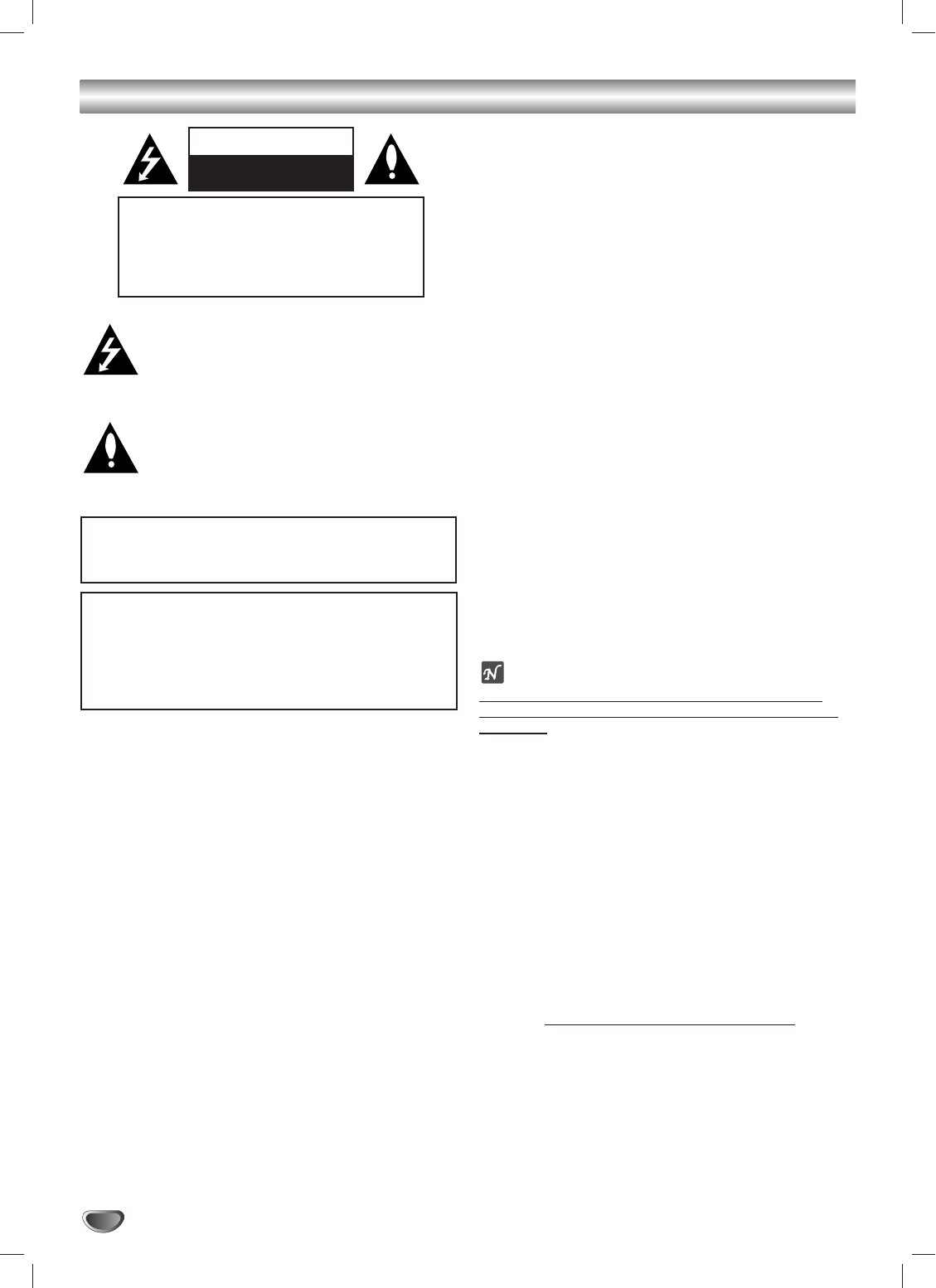 Page 2 of GoVideo DVD VCR Combo DV2140 User Guide