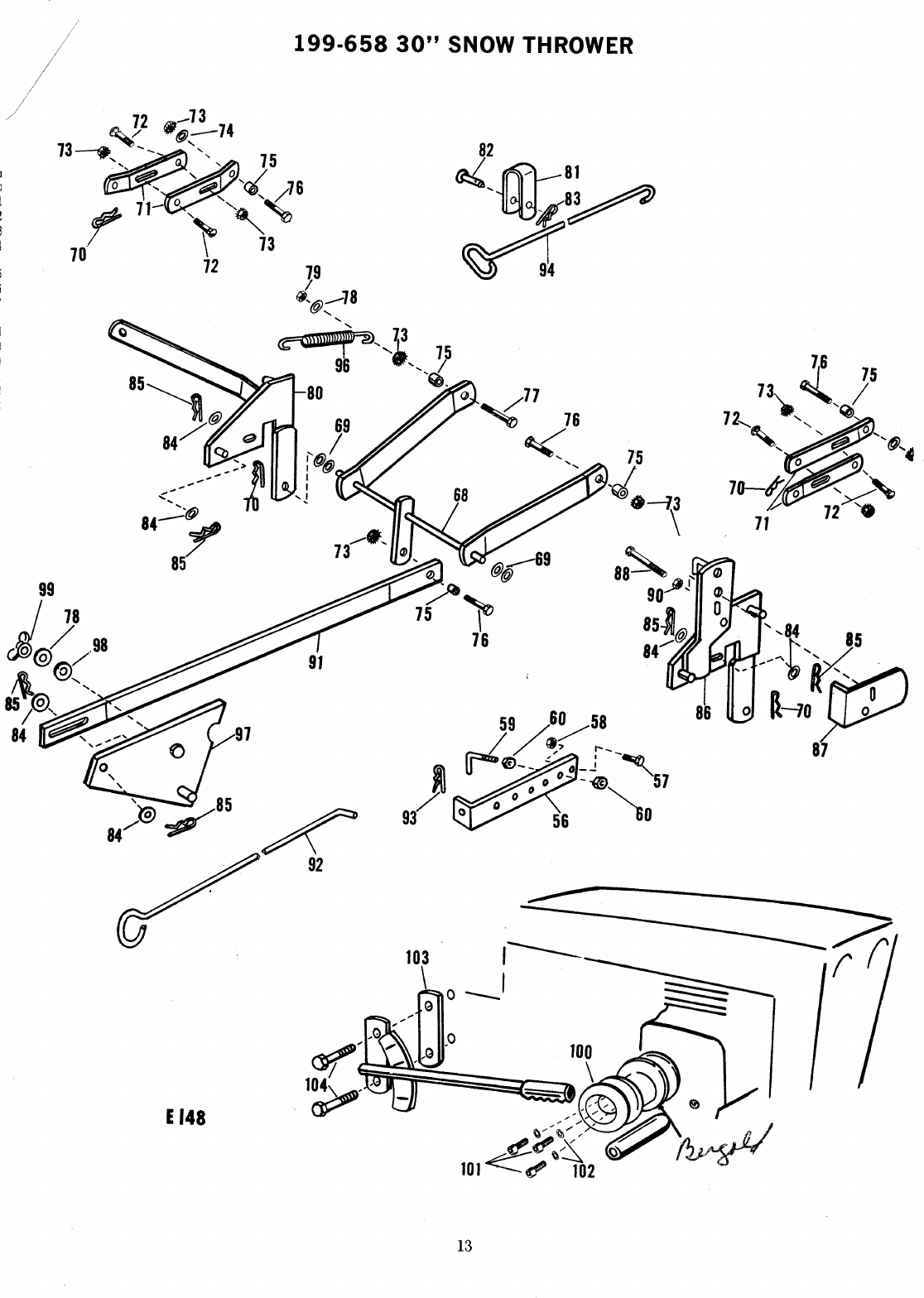 Page 13 of MTD Snow Blower 199-658 User Guide