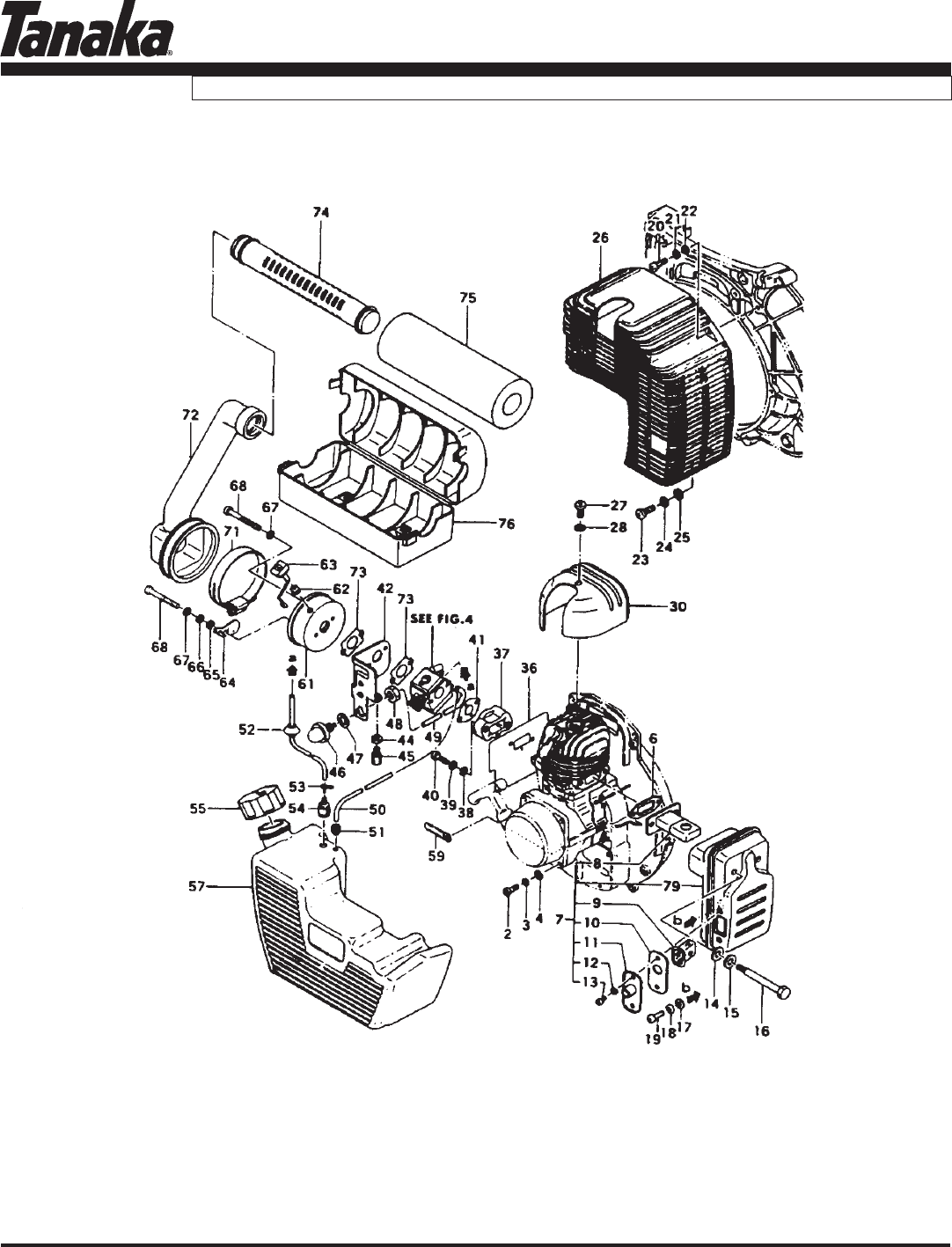 Page 5 of Tanaka Blower TBL-455/500 User Guide