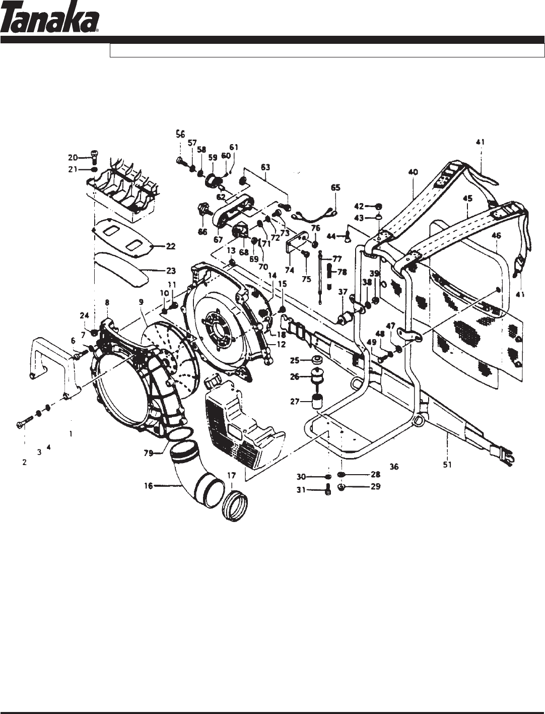 Page 11 of Tanaka Blower TBL-455/500 User Guide