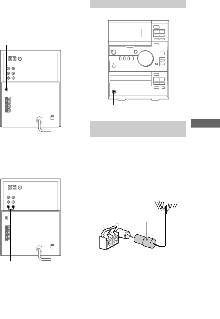 Page 9 of Sony Stereo System CMT-CP1 User Guide