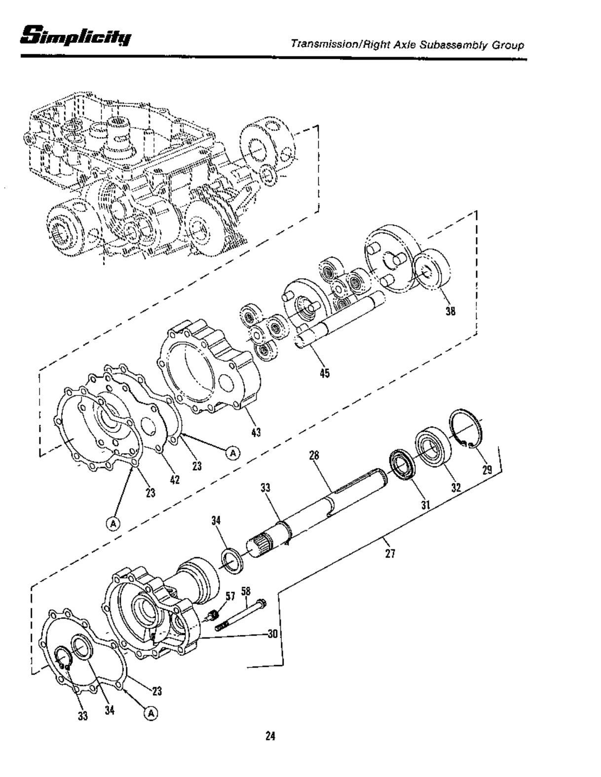 Page 26 of Simplicity Lawn Mower 12.5 LTH User Guide