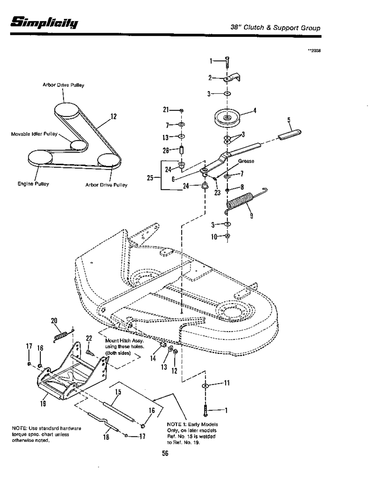 Page 58 of Simplicity Lawn Mower 12.5 LTH User Guide
