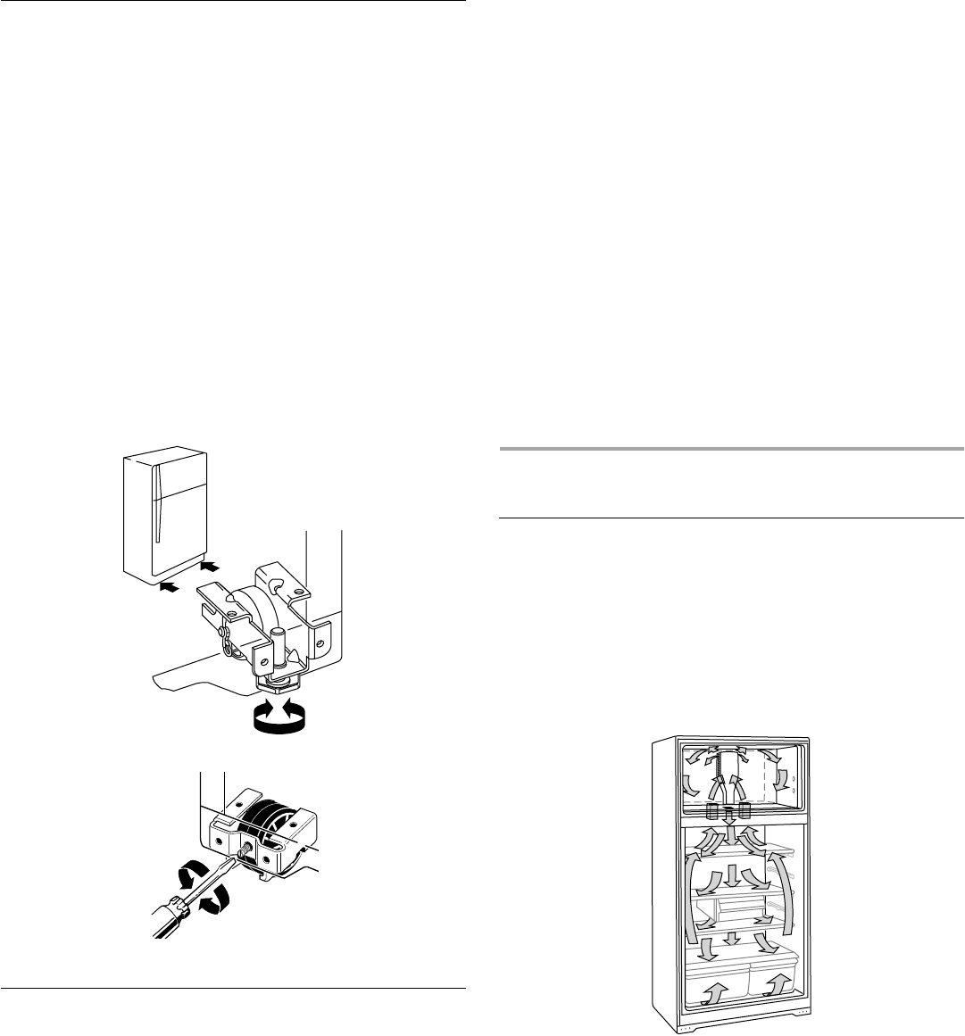 Page 10 of Whirlpool Refrigerator W4TXNWFWQ User Guide
