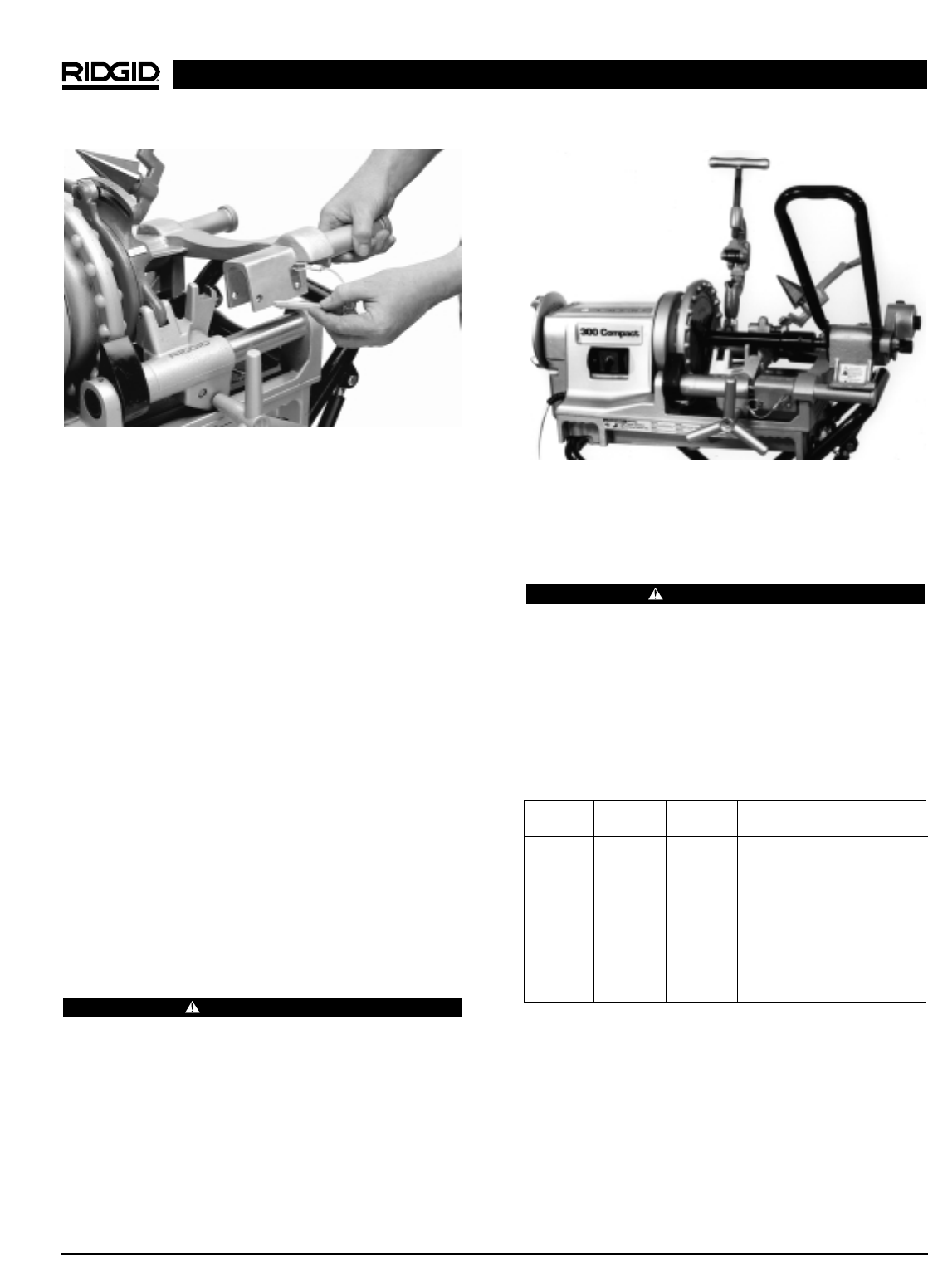 Page 60 of RIDGID Sewing Machine 300 User Guide