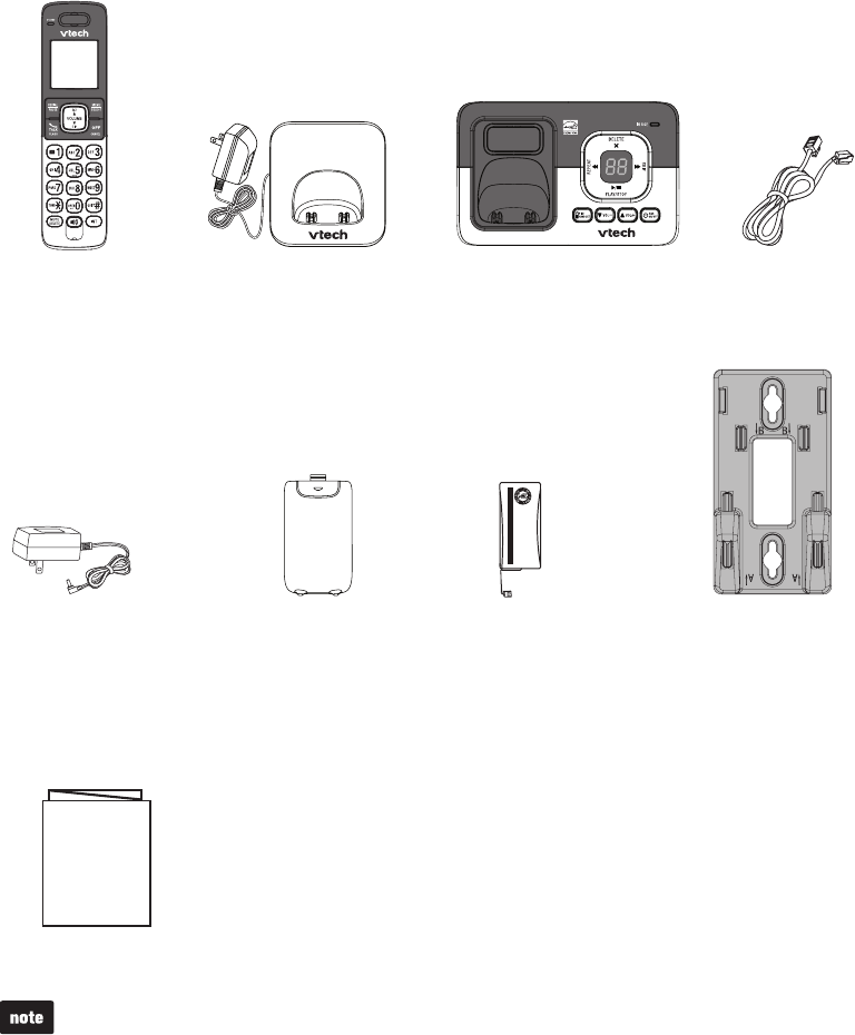 Page 5 of VTech Cordless Telephone CS6829 User Guide