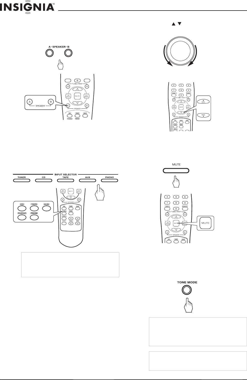 Page 10 of Insignia Stereo Receiver NS-R2000 User Guide