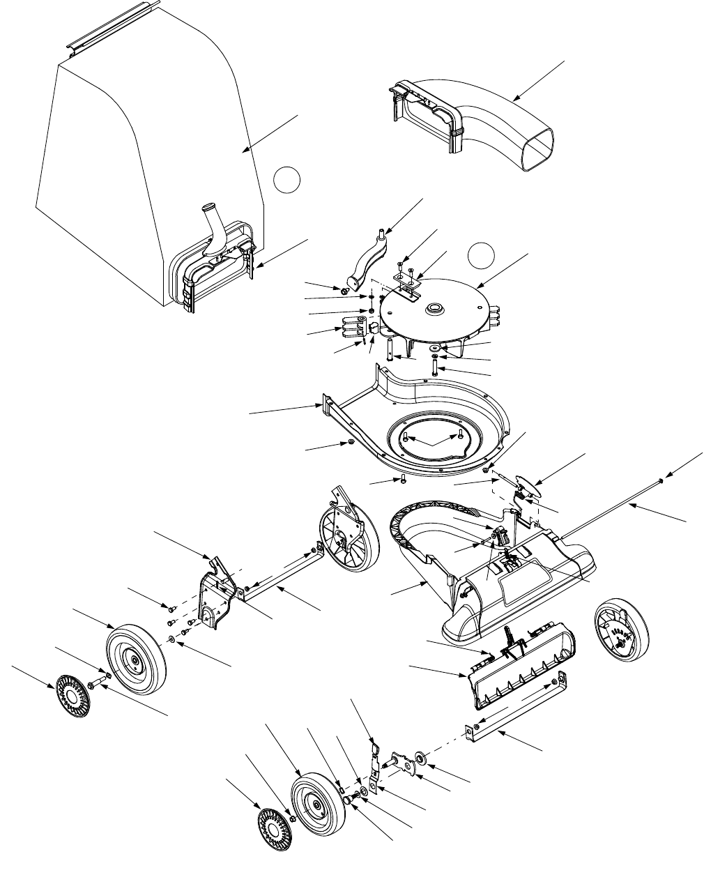 Page 21 of Sears Yard Vacuum 247.77055 User Guide