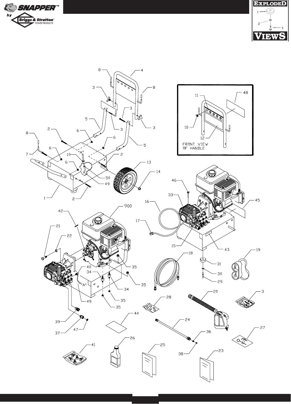 Page 16 of Briggs & Stratton Pressure Washer 2700PSI User