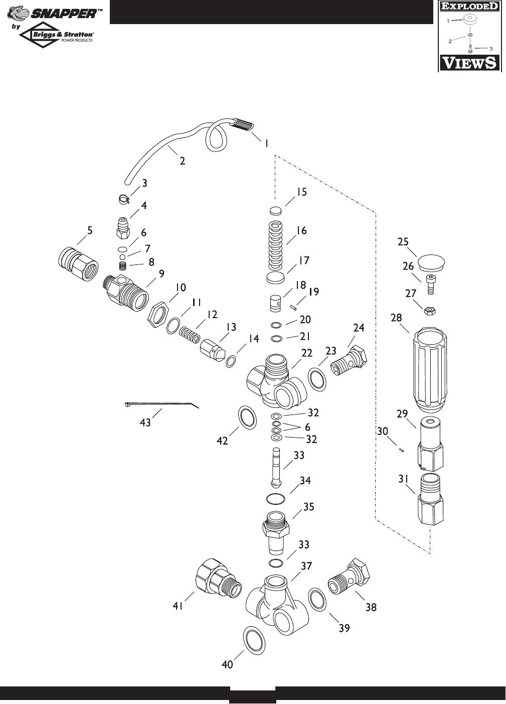 Page 20 of Briggs & Stratton Pressure Washer 2700PSI User