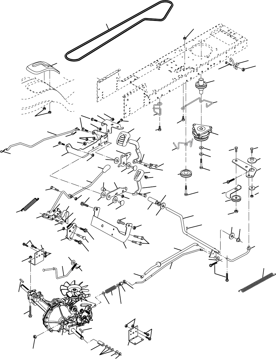 Page 34 of Poulan Lawn Mower PD25PH48STA User Guide
