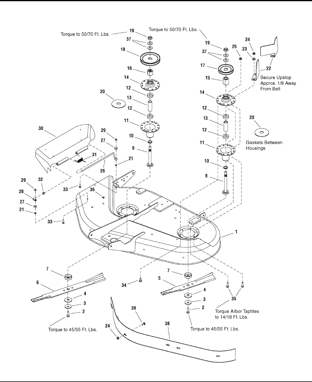 Page 36 of Simplicity Lawn Mower Regent / 2500 User Guide