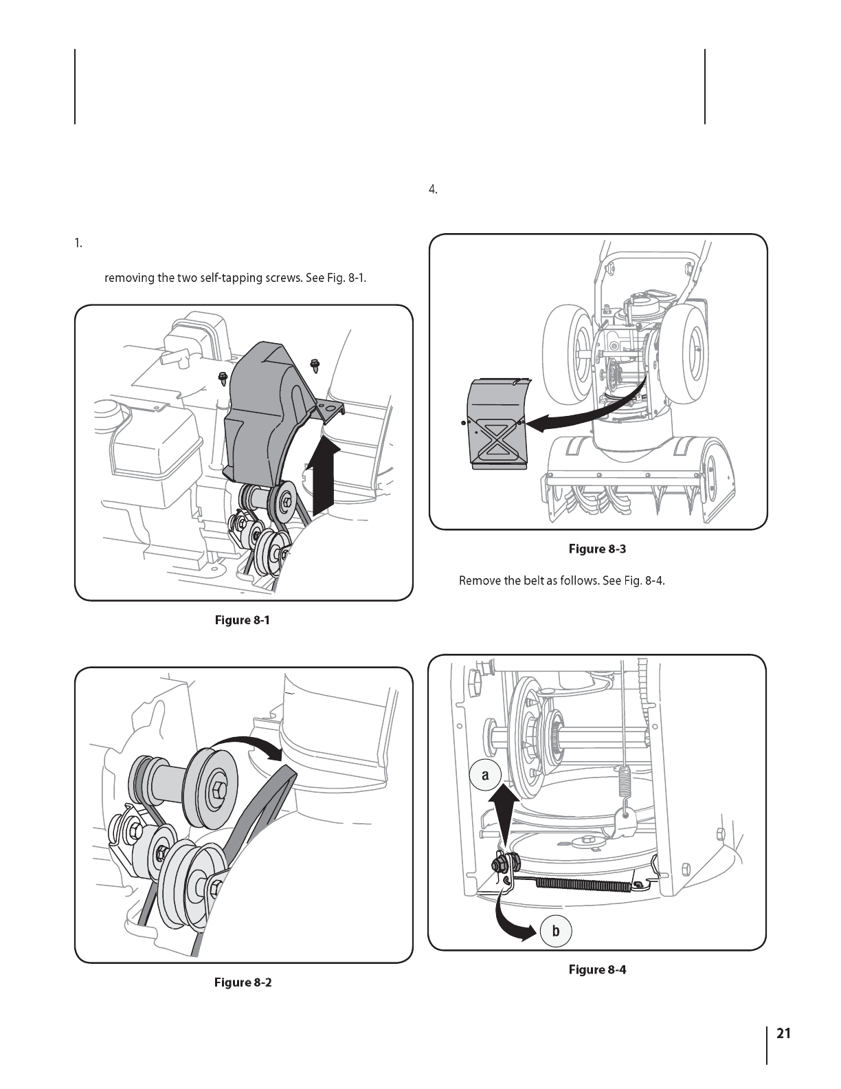 Page 21 of Troy-Bilt Snow Blower Storm 2620 User Guide
