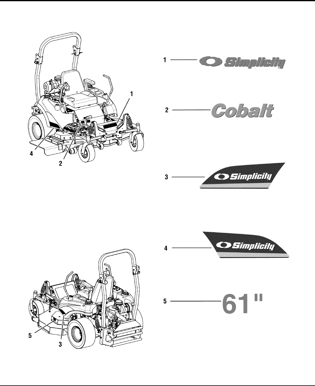 Page 48 of Simplicity Lawn Mower 2690479 User Guide