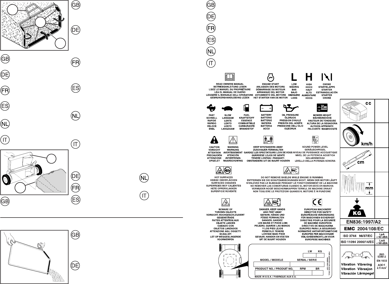 Page 9 of McCulloch Lawn Mower 1-R User Guide