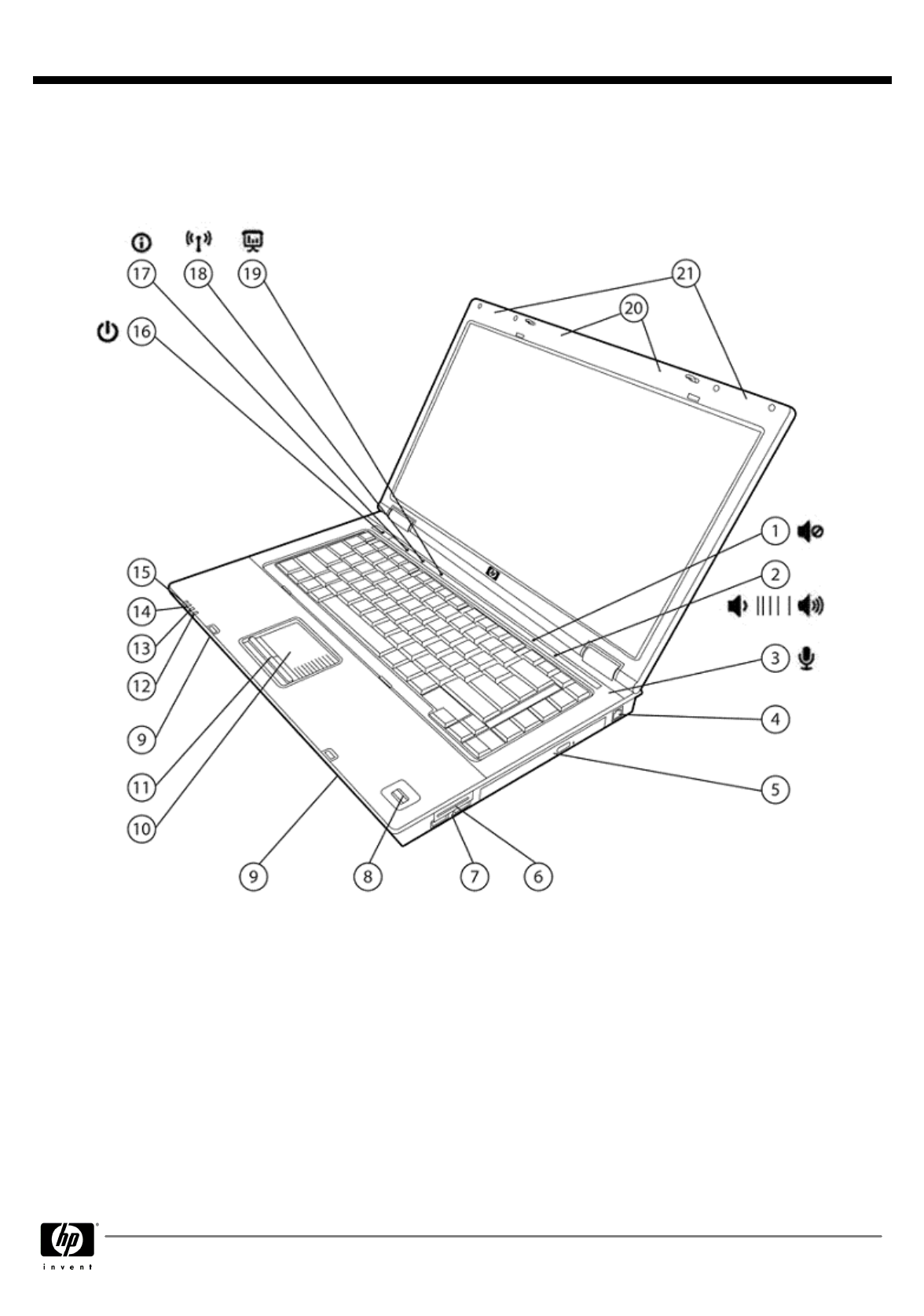 HP (Hewlett-Packard) Laptop 6710b User Guide