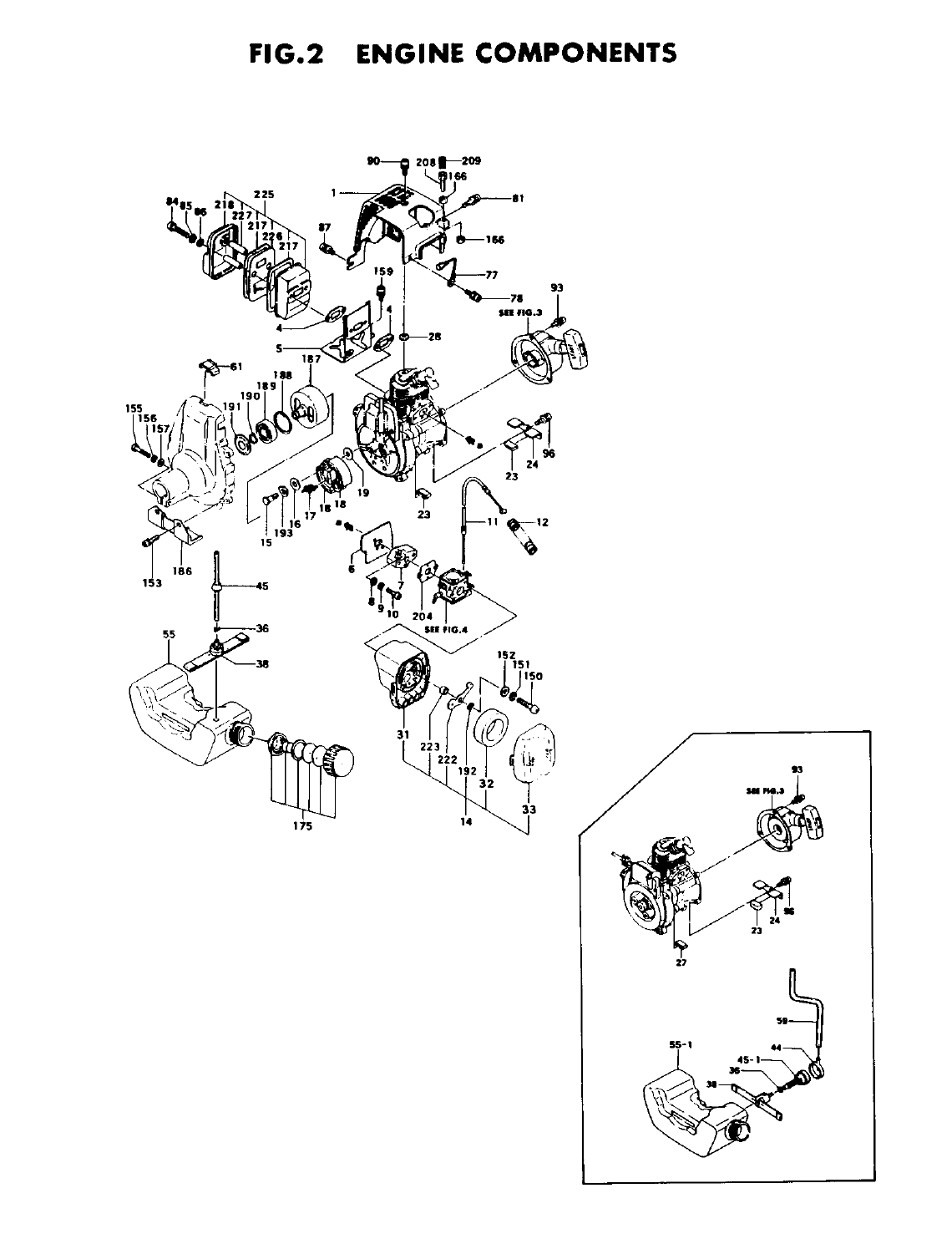 Page 4 of Tanaka Brush Cutter TBC-210 User Guide