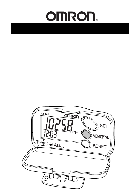 Freestyle Digital Pedometer Instruction Manual free