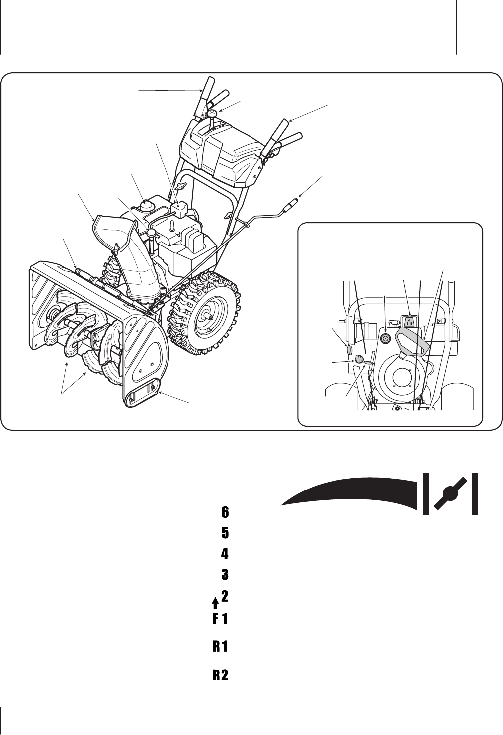 Page 10 of Troy-Bilt Snow Blower 8526 User Guide