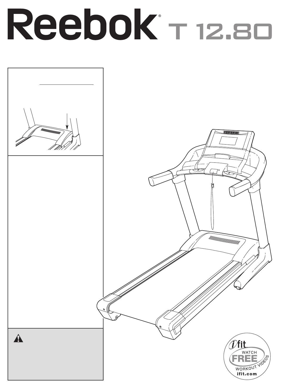 Reebok Fitness Treadmill RBTL15908.0 User Guide
