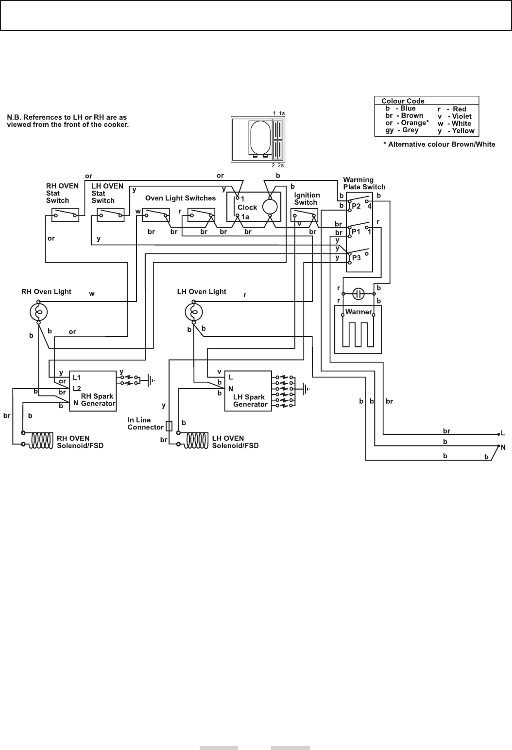 cooker hood wiring diagram u s government structure rangemaster 38