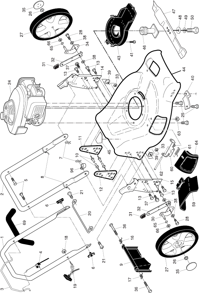 Page 2 of McCulloch Lawn Mower EDITION 1 MFG. ID. NO