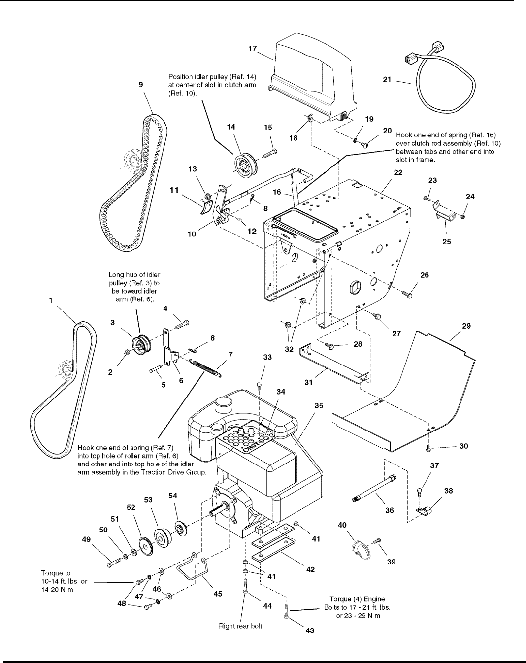 Page 20 of Snapper Snow Blower 9247E User Guide