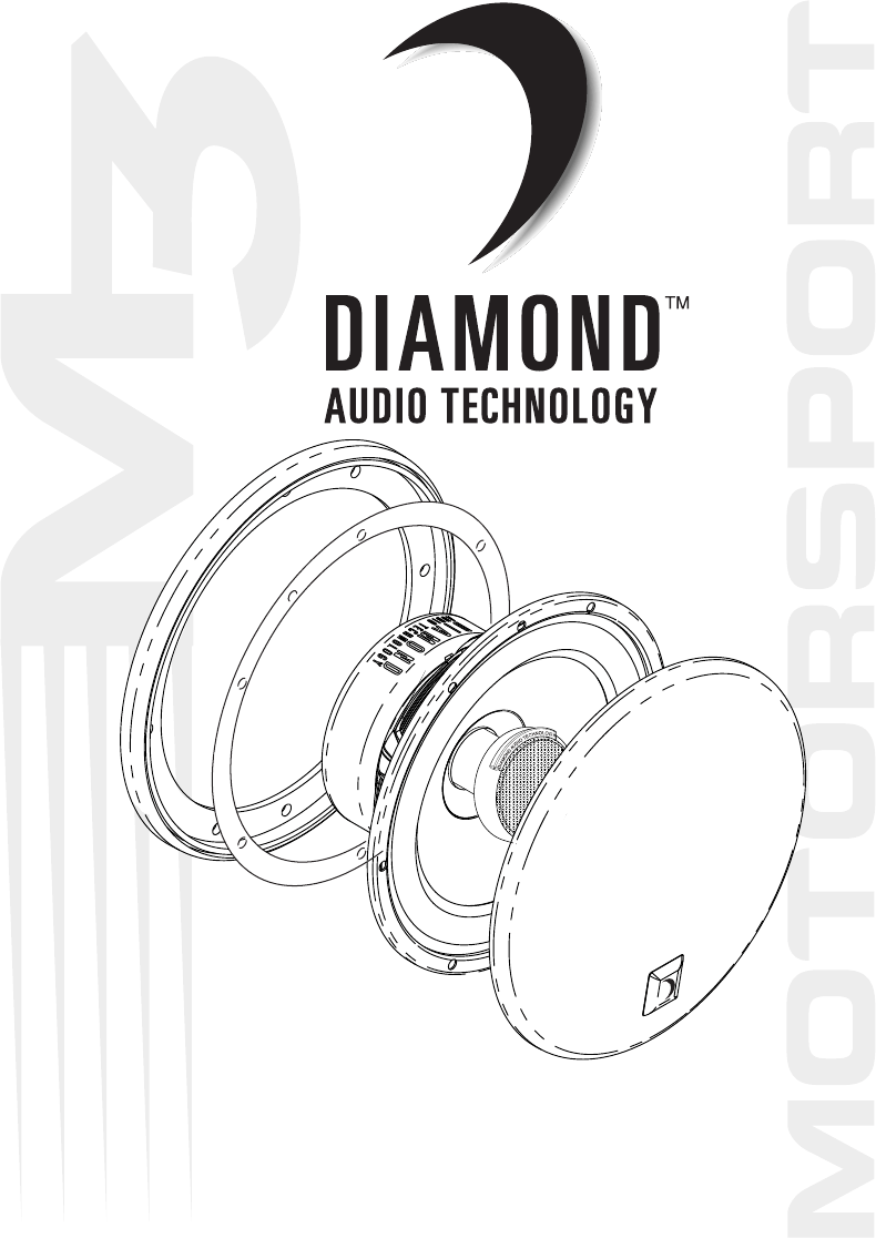 Diamond Audio Technology Stereo System M351 User Guide