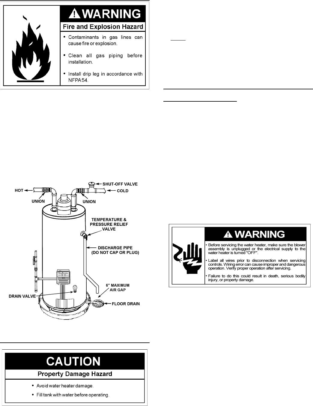 Page 14 of A.O. Smith Water Heater GPVH-50 User Guide