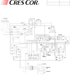 page of cres cor convection oven cohwb user guide call toll 877 cres cor 273 7267 microwave oven circuit diagrams  [ 1063 x 1153 Pixel ]