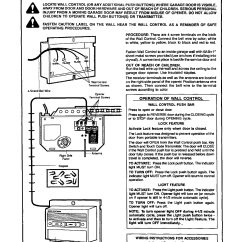 Craftsman 1 3 Hp Garage Door Opener Wiring Diagram For 7 Pin Flat Trailer Connector Page 13 Of 139 53626sr I