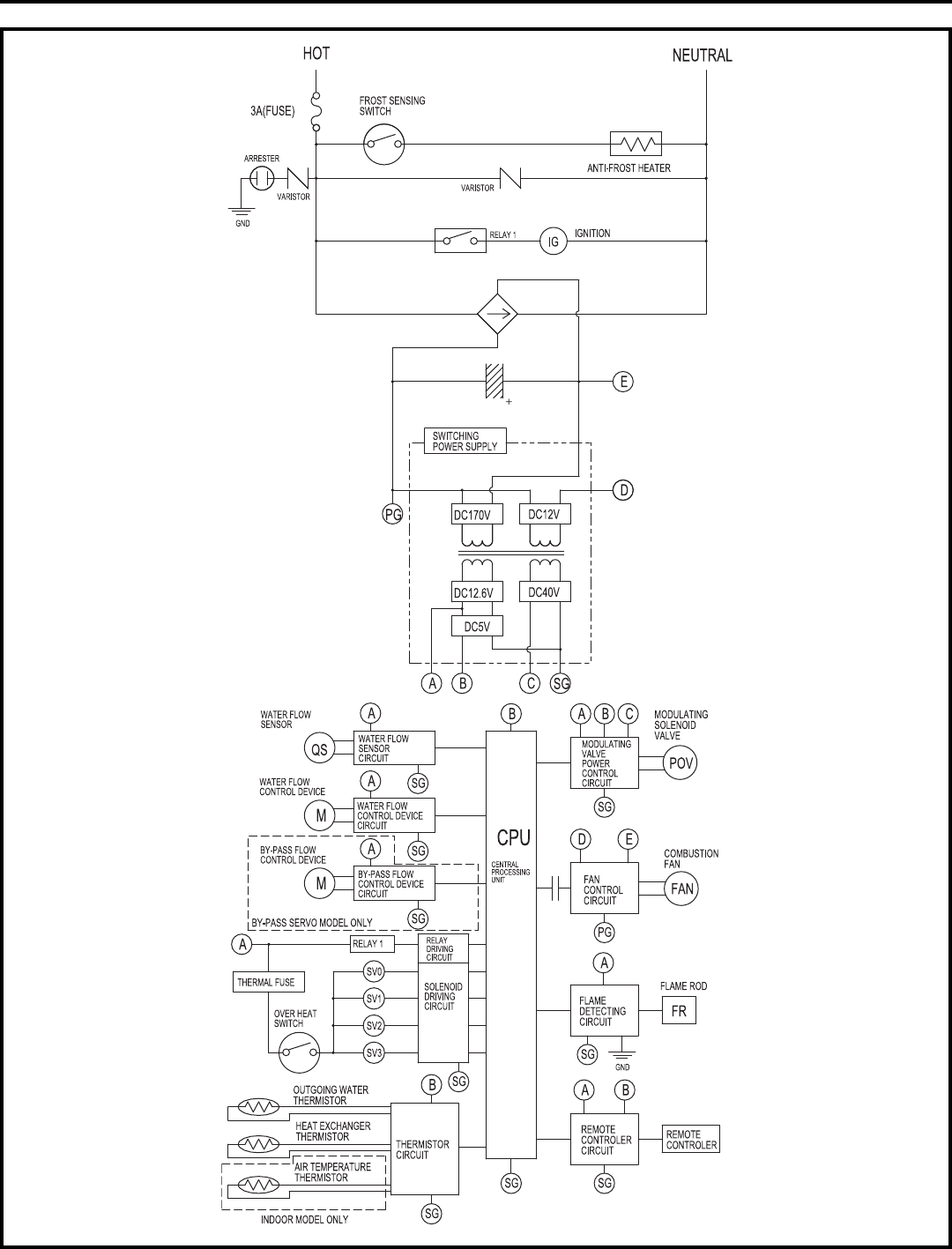 ladder wiring diagram fan light switch how to wire multiple switches agnitum water heater 27 images