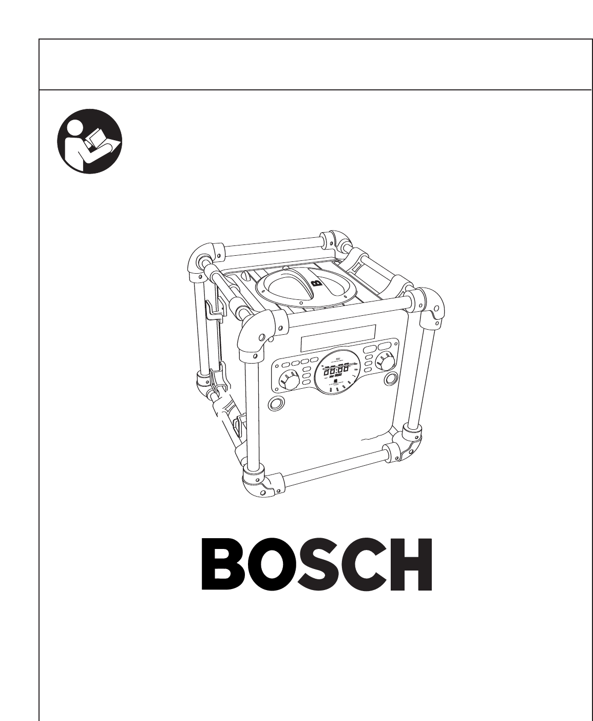 Bosch Appliances Portable Radio PB10-CD User Guide