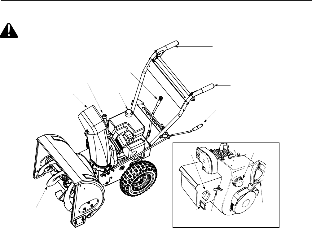 Page 11 of Yard Machines Snow Blower 611 User Guide