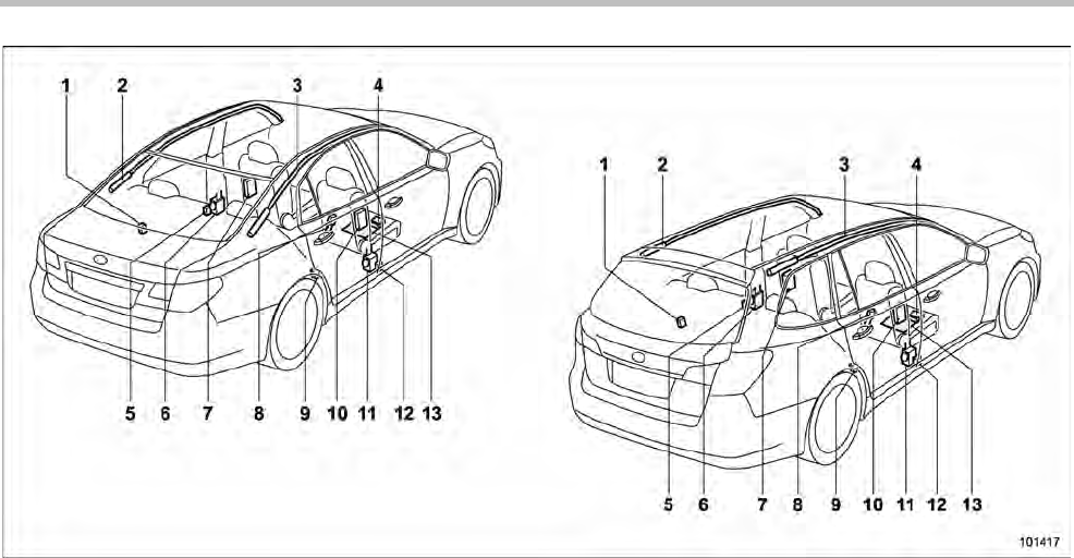 Page 64 of Subaru Automobile 2001 Outback User Guide