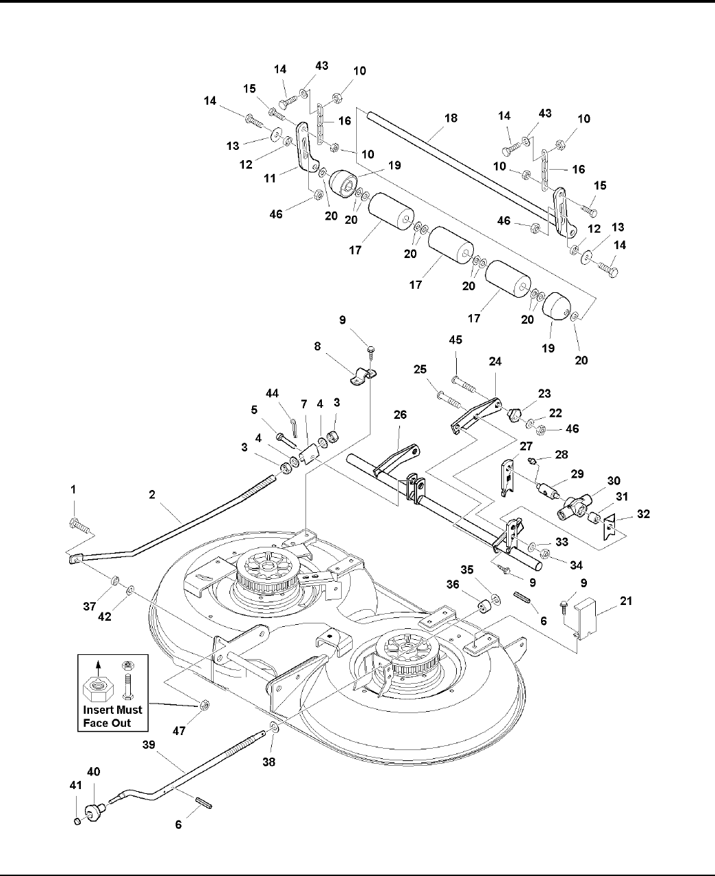 Page 44 of Simplicity Lawn Mower Lancer / 4400 User Guide