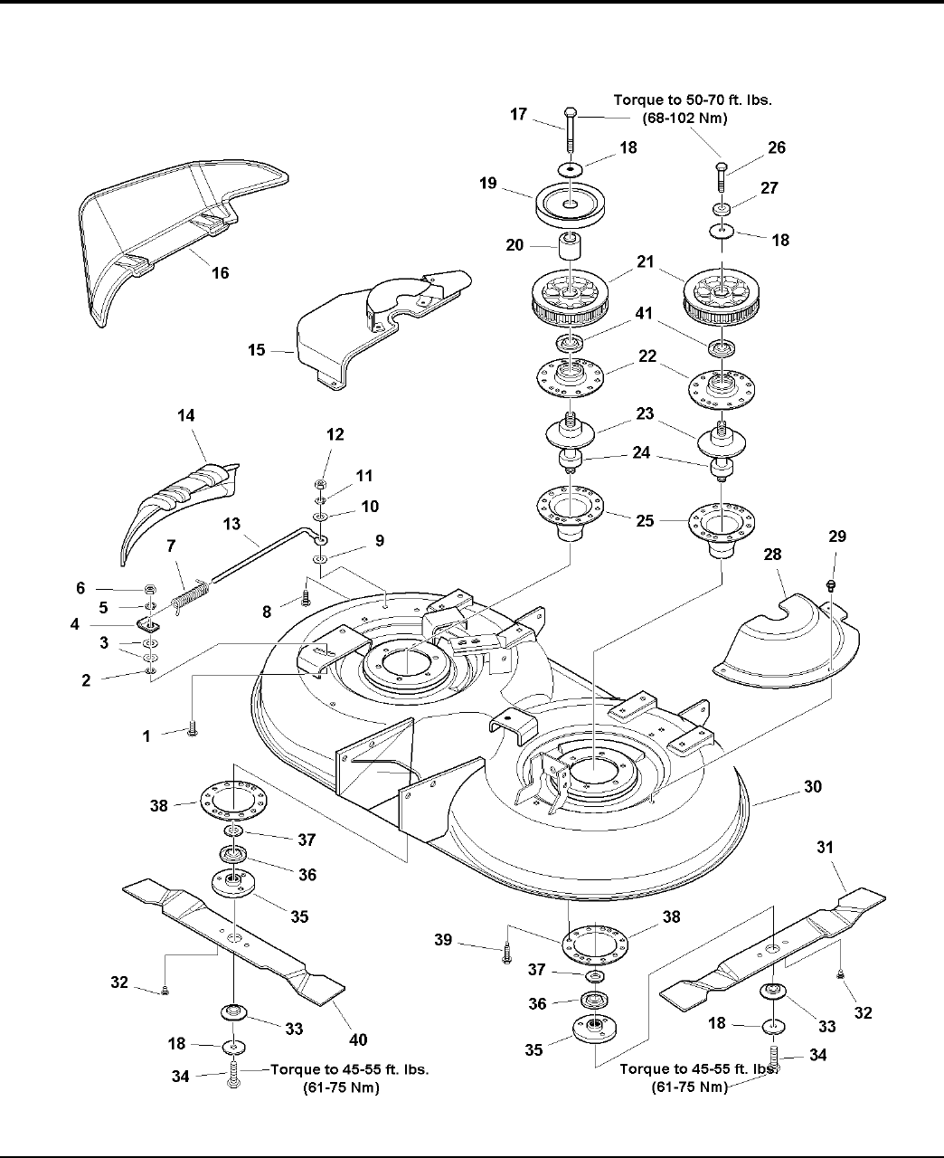 Page 48 of Simplicity Lawn Mower Lancer / 4400 User Guide