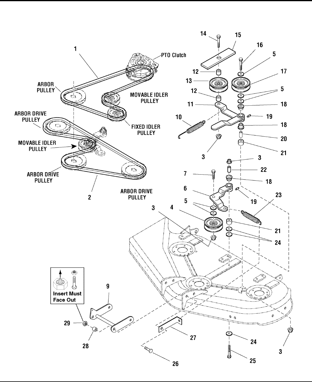 Page 54 of Simplicity Lawn Mower Lancer / 4400 User Guide