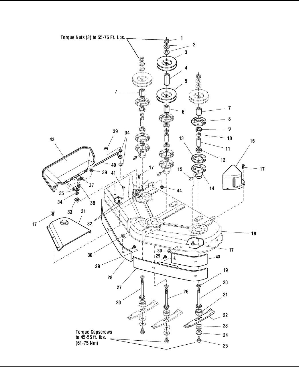 Page 60 of Simplicity Lawn Mower Lancer / 4400 User Guide