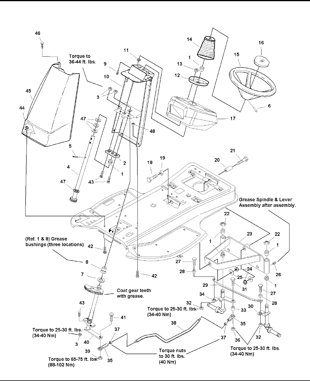 Page 8 of Simplicity Lawn Mower Lancer / 4400 User Guide