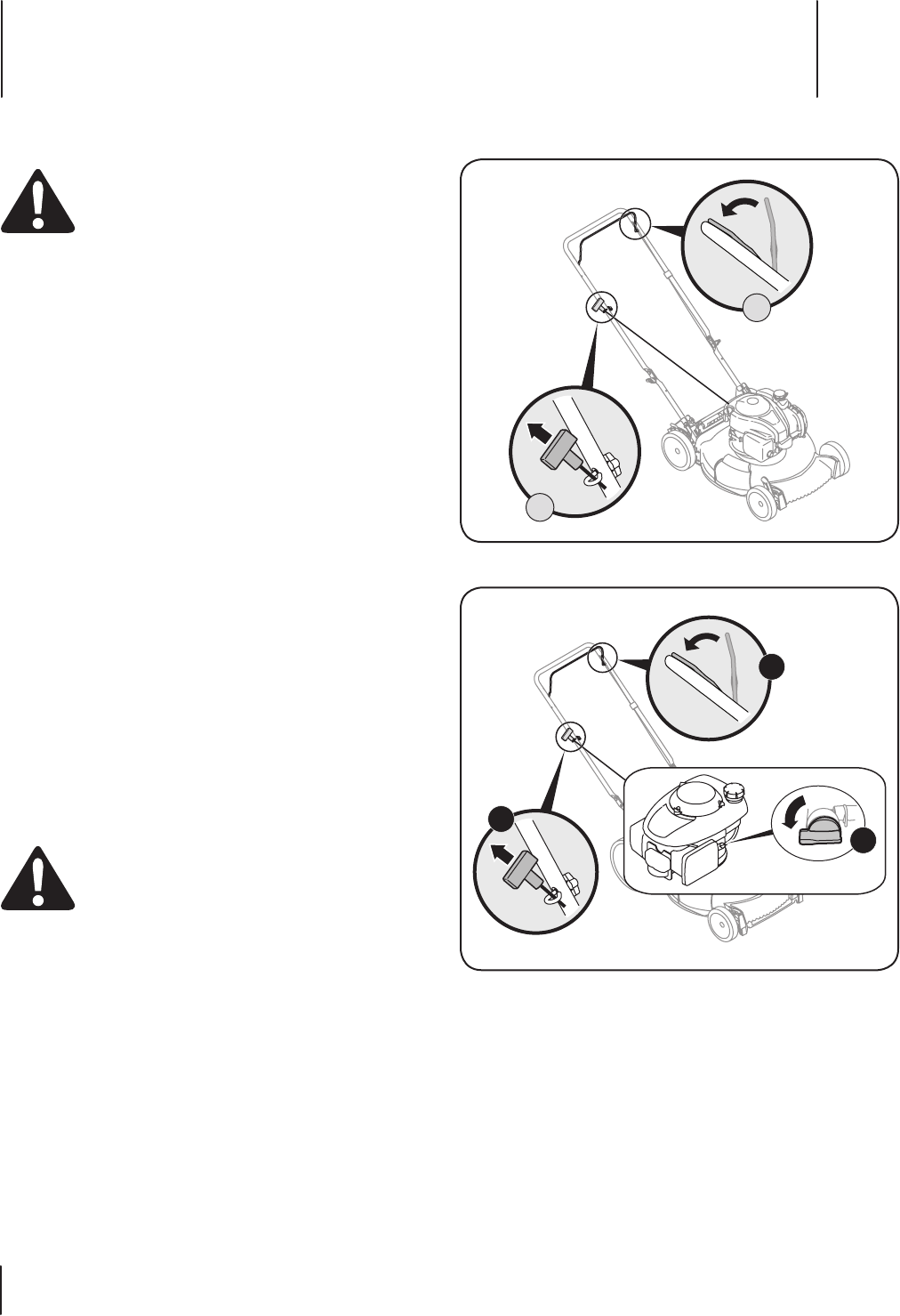Page 14 of Troy-Bilt Lawn Mower TB110 User Guide
