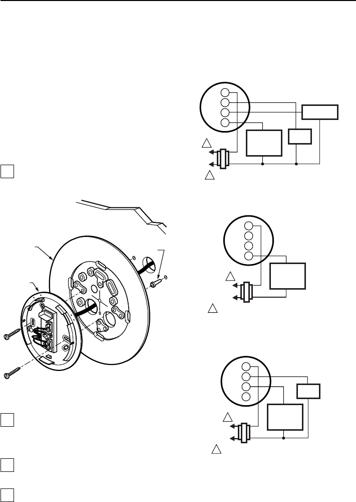 Page 3 of Honeywell Thermostat CT2700 User Guide