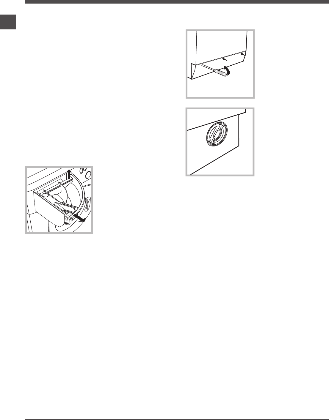 Page 6 of Hotpoint Washer WMFG 821 User Guide