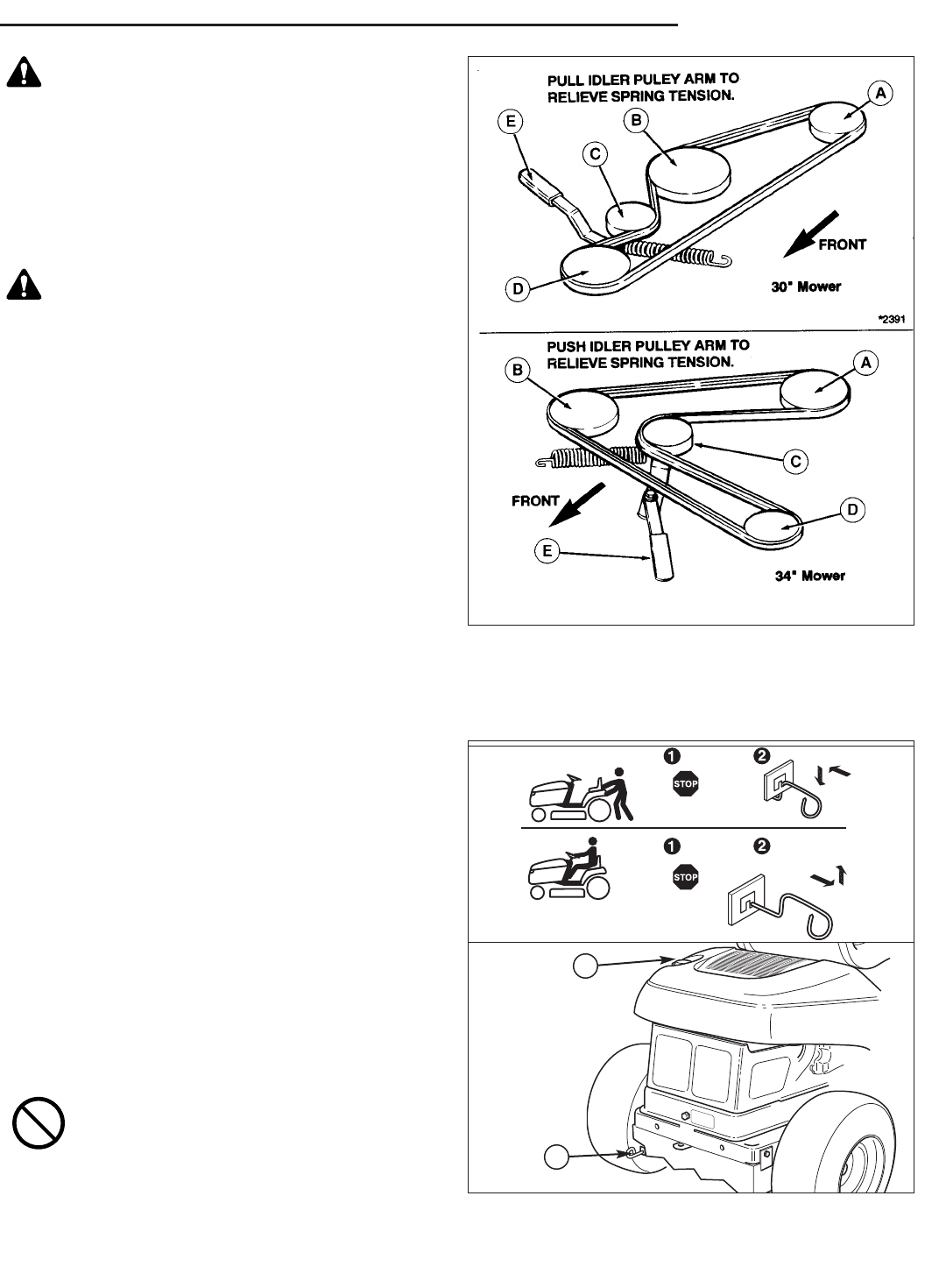 Page 17 of Snapper Lawn Mower RE 200 User Guide